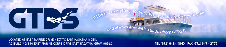 WELCOME TO GUAM TROPICAL DIVE STATION